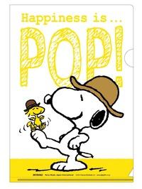 スヌーピーHappiness is... POP!タワレコクリアファイル