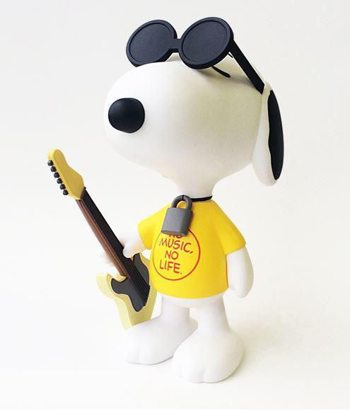 スヌーピータワレコフィギュアギター2