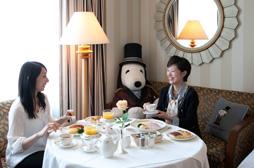 帝国ホテル大阪ドアマンスヌーピー5