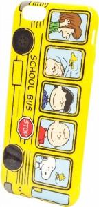スヌーピーiPhoneケーススクールバス1-1