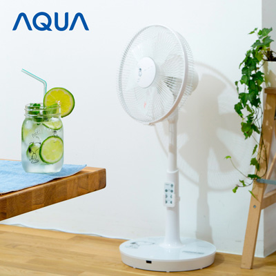 スヌーピー扇風機ハイアールAQUA1