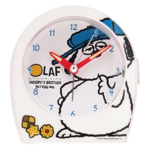 スヌーピー目覚まし時計オラフクッキー1