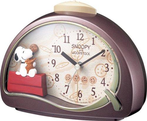 スヌーピー目覚まし時計チョコチップクッキー1