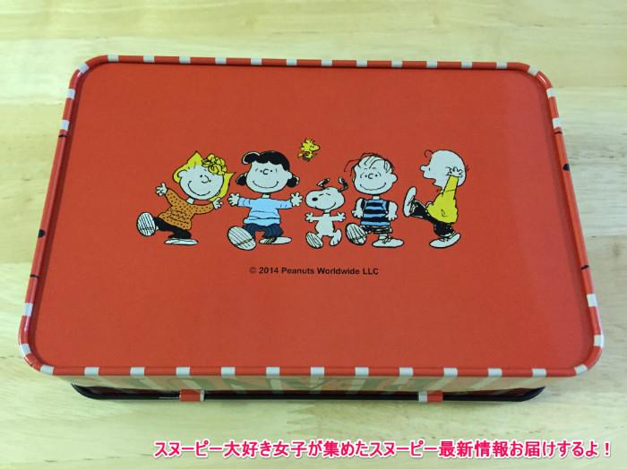スヌーピー缶箱ブリキフリーボックス7-1