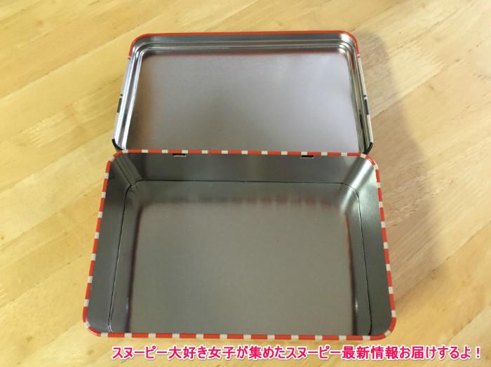 スヌーピー缶箱ブリキフリーボックス8-1