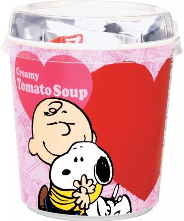 スヌーピートマトのクリーミースープ丸美屋1