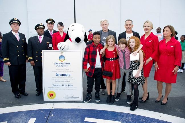 スヌーピーデルタ航空名誉パイロットフライングエース5