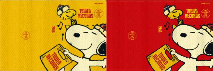 スヌーピータワーレコードコラボウィンターセール2015クリスマス手帳カバー24