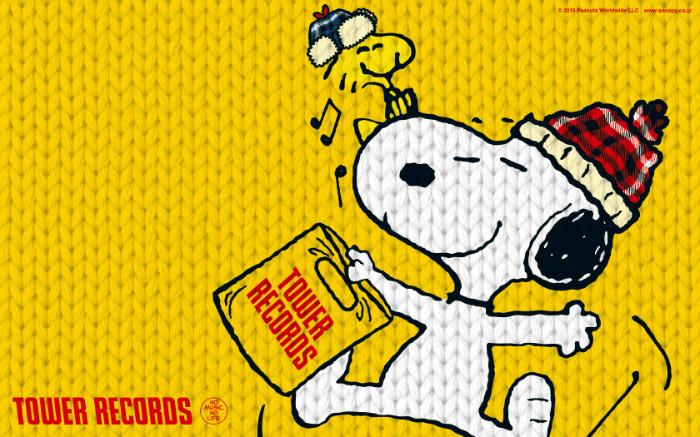 スヌーピータワーレコードコラボウィンターセール2015クリスマス手帳カバー5