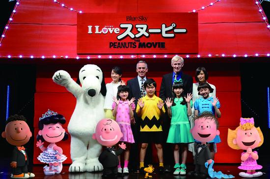 スヌーピー映画「I LOVE スヌーピー」試写会イベント犬小屋1