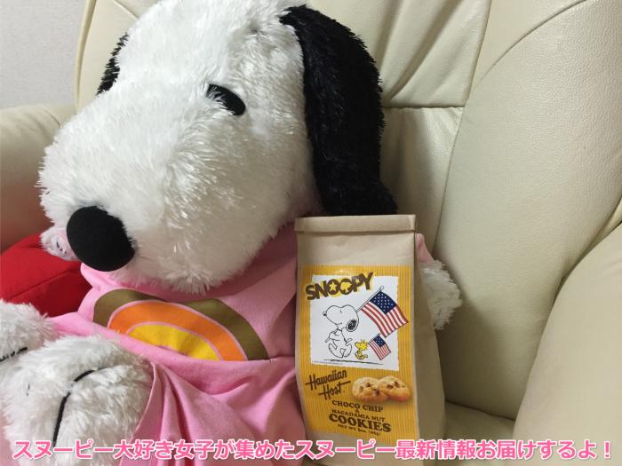 スヌーピーチョコチップクッキーハワイアンホーストジャパン1