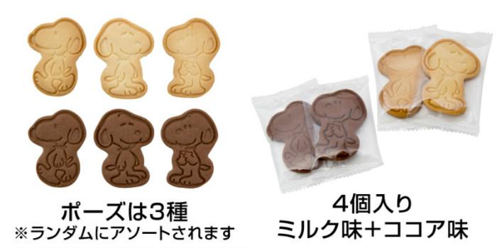 スヌーピーバレンタインデー2016チョコレートクッキーお買い物スヌーピー2