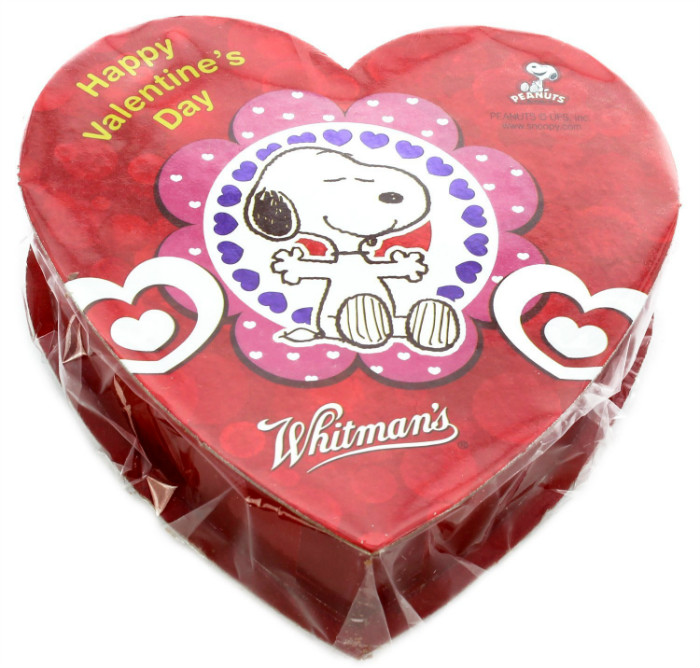 スヌーピーバレンタインチョコレートホイットマンズハート歓迎1