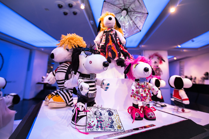 SNOOPY&BELLE in FASHIONスヌーピーファッションイベントオシャレ2015年アムステルダム開催2