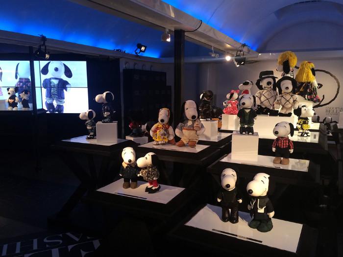 SNOOPY&BELLE in FASHIONスヌーピーファッションイベントオシャレ2015年ストックホルム開催1
