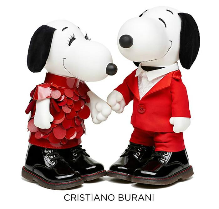 SNOOPY&BELLE in FASHIONスヌーピーファッションイベントオシャレCRISTIANO_BURANI