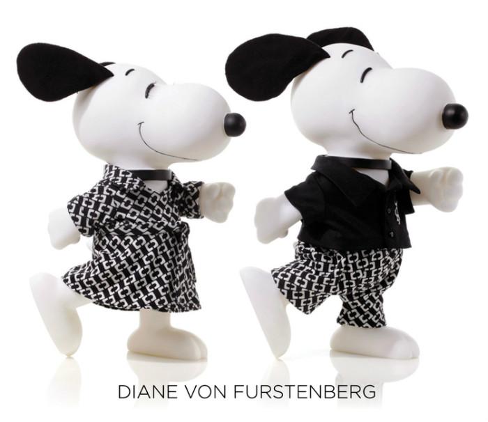 SNOOPY&BELLE in FASHIONスヌーピーファッションイベントオシャレDIANE_VON_FURSTENBERG
