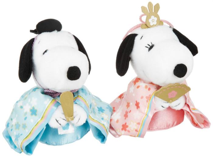 スヌーピーひな祭り雛人形お内裏様ベルおひなさま1