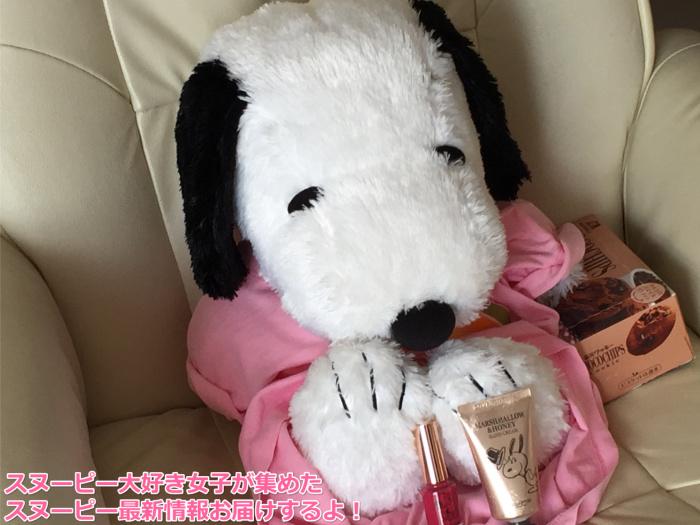 スヌーピースキンフード韓国マニキュアピンクハート1
