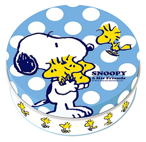 スヌーピーホワイトデー2016ウッドストック水色ドット水玉3