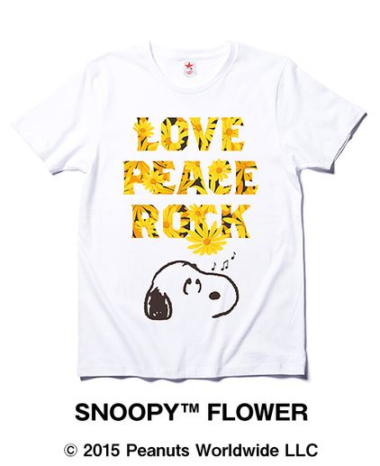 スヌーピーのロキノンコラボTシャツがAmazonで発売中♪