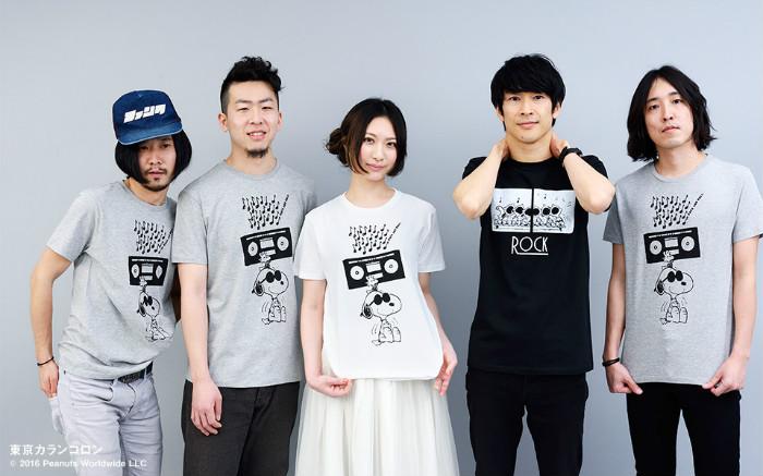 スヌーピーTシャツロキノン2016ロッキンスター東京カランコロン1