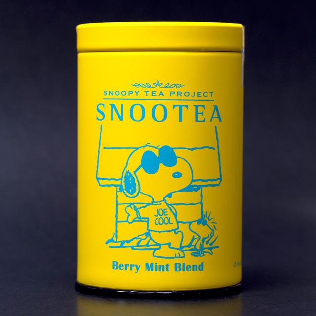 スヌーピーの新作紅茶✿ジョークールが描かれたベリーミントブレンド♪
