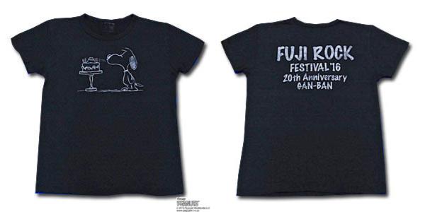 スヌーピーTシャツフジロック2016コラボ2