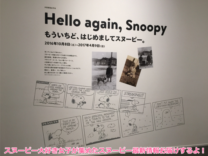 スヌーピーミュージアム20160822第1回愛しのピーナッツ18
