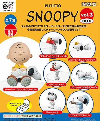 スヌーピー版コップのフチ子❀待ってました♪第3弾が6月30日発売★