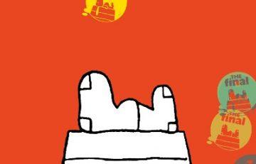 スヌーピーミュージアム第5弾展示テーマともだち最終回ファイナル犬小屋1