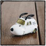 スヌーピーミュージアム第5弾グッズファイナルトミカかわいい耳ミニカー1
