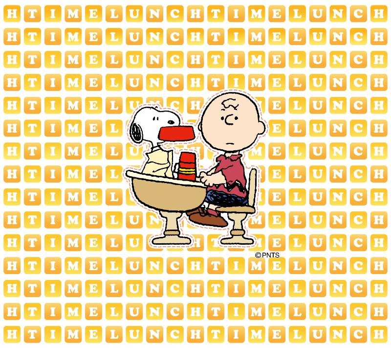 スヌーピーパーク壁紙待受画像2018年5月ごはん皿ランチタイム昼食1