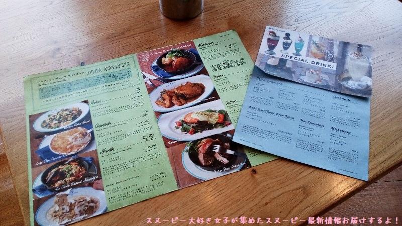 スヌーピーレストランピーナッツダイナー横浜みなとみらいかわいいおいしい20