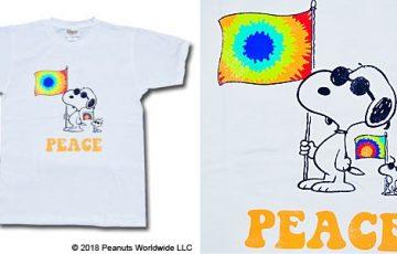 スヌーピーフジロックコラボTシャツ2018ジョークールサングラスピース旗1