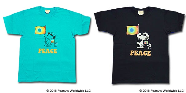 スヌーピーフジロックコラボTシャツ2018ジョークールサングラスピース旗2
