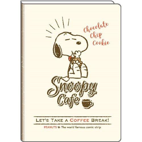 スヌーピースケジュール手帳2019年チョコチップクッキーおやつ食いしん坊1