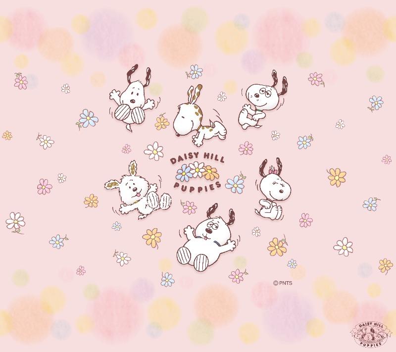 スヌーピー誕生日2018特別壁紙画像デイジーヒル子犬園赤ちゃん1