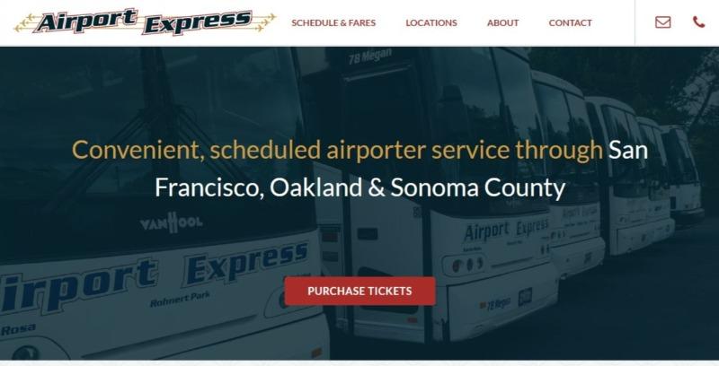 スヌーピーアメリカサンタローザバスサンフランシスコ空港エアポートエクスプレス1