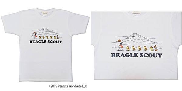 スヌーピーフジロックコラボTシャツ2019ビーグルスカウト隊長富士山キャンプ1