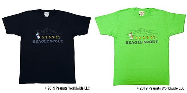 スヌーピーフジロックコラボTシャツ2019ビーグルスカウト隊長富士山キャンプ2