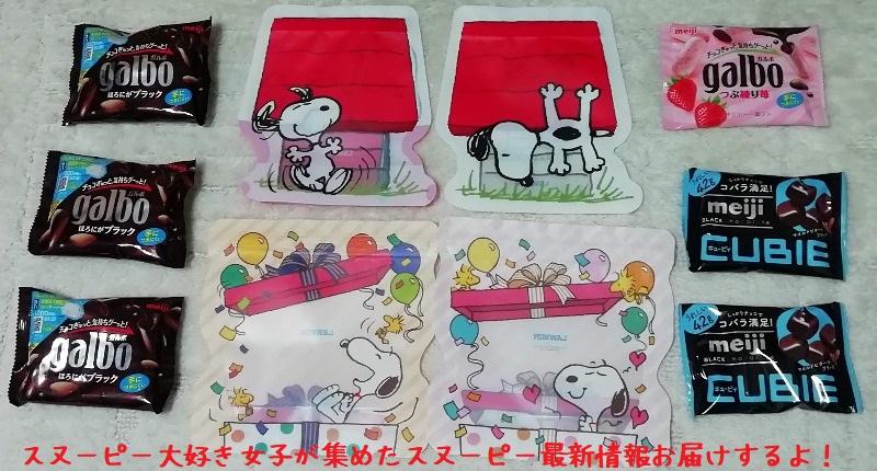 スヌーピーのジッパーバッグ、犬小屋柄とプレゼント柄GET♪7月1日まで!