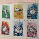 スヌーピー大好き女子ファンあおいポスタートム・エバハート非売品展示1