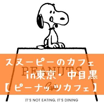 スヌーピーピーナッツカフェ東京中目黒アメリカ西海岸かわいいグッズ2