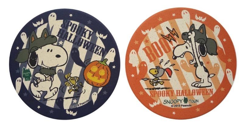 スヌーピータウンショップハロウィン2019かぼちゃパンプキン狼変装不気味3