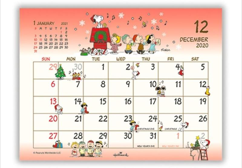 スヌーピーの卓上カレンダー2020ベスト5♪かわいいイラスト大集合!