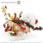 スヌーピークリスマスフィギュア2019サンタクロースソリプレゼント雪かわいい1