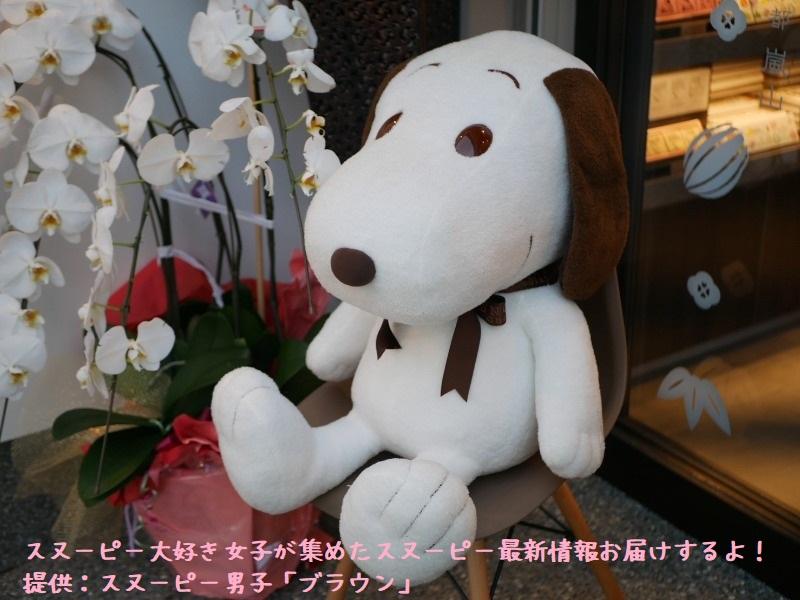スヌーピーショコラ感想レポ2019京都嵐山かわいい和コラボチョコブラウン2