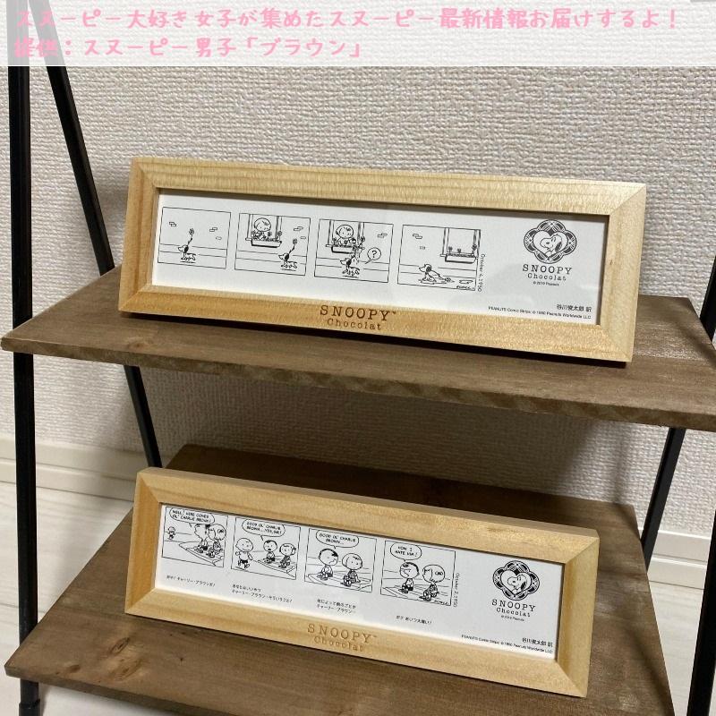 スヌーピーショコラ感想レポ2019京都嵐山かわいい和コラボチョコブラウン7