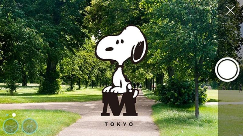 スヌーピーミュージアム東京町田日本アプリFINDINGSNOOPY!スヌーピーを探せ1